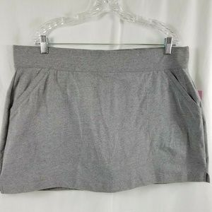 Tek Gear Women's Grey Stretch Skort Size XXL NWT